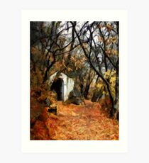 The Chapel In The Rock - Holy Hill Mikulov Art Print