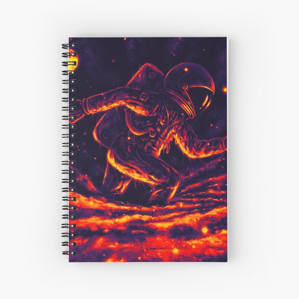Atrapado en un agujero negro Cuaderno de espiral
