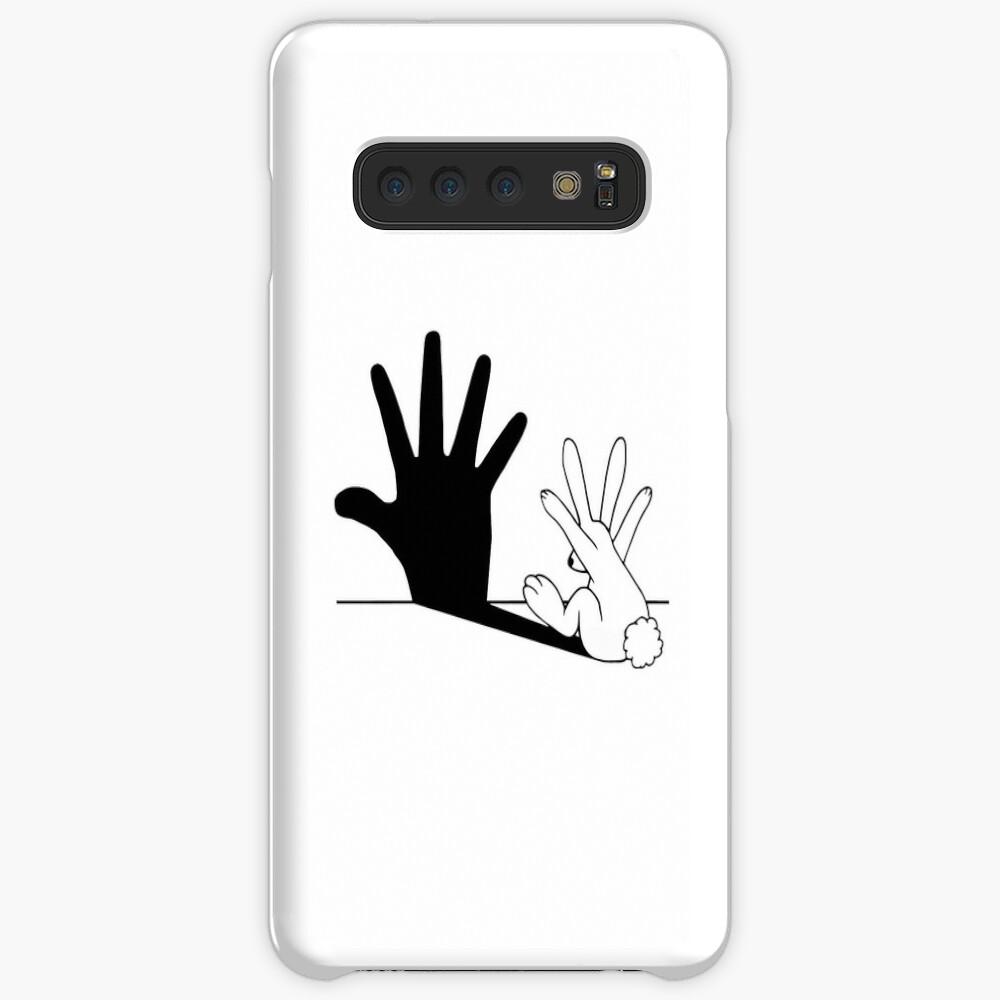 Rabbit Hand Shadow Case & Skin for Samsung Galaxy