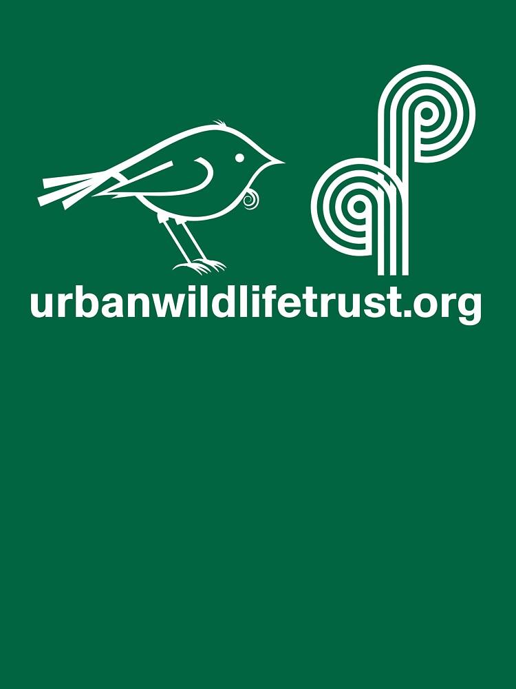 Urban Wildlife Trust Tui ALT Logo (white) by UrbanWildlife