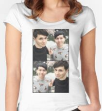 Japhan Selfie Women's Fitted Scoop T-Shirt