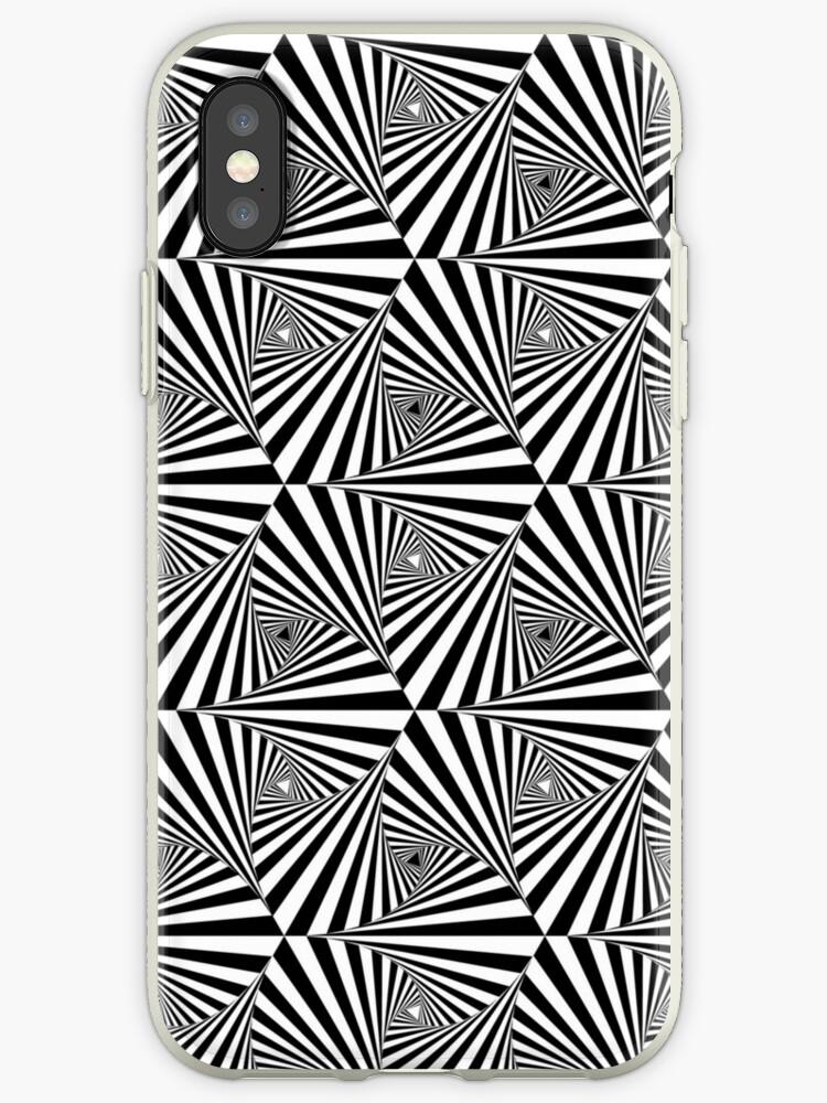 Triangular Tessellation Iphone Cases Covers By Drunktuxedo