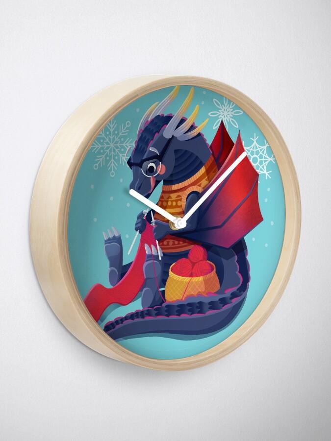 Alternate view of Drogon Prepares for Winter Clock