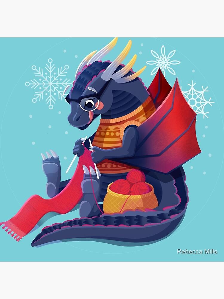 Drogon Prepares for Winter by RebecccaMills