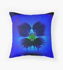 A Magical Night Walking on Water... Throw Pillow
