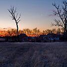 Nebraska Sun and Moon by Cari Jo Blain