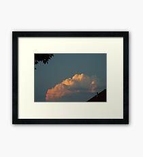 Sony Cloud Framed Print