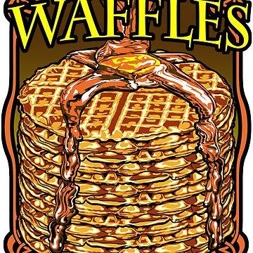 WAFFLES!! by rewireddesign