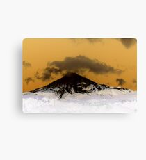 Mount Taranaki Canvas Print