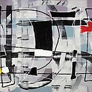 Expressive automatism abstract 907 by Eraclis Aristidou
