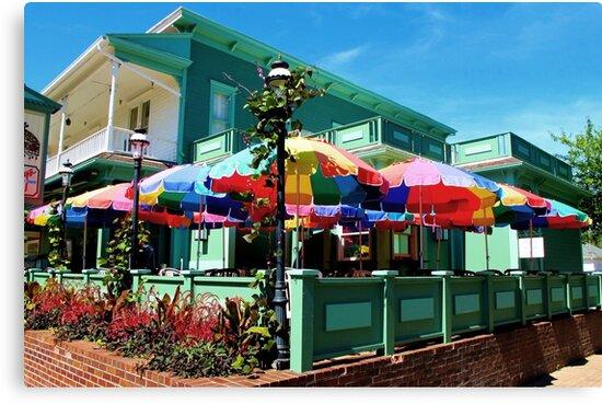Umbrellas by Rodney Campbell