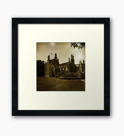 Lauriston Castle Framed Print