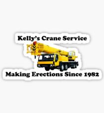 Kelly's Crane Service Sticker