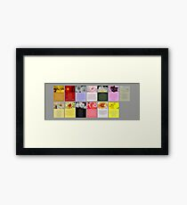 Cards for mothers that have children with cancer. Framed Print
