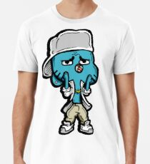 Gumball from The Amazing World of Gumball™ Ocho's Uncle Song Premium T-Shirt