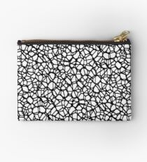 Staklo (Black) Zipper Pouch