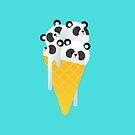«Helado de panda» de no-eye-deer