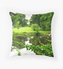 Horse Farm Revisited ~ The Bigger Picture Throw Pillow
