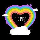 Heart Rainbow by zoljo