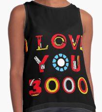 Ich liebe dich 3000 v2 Ärmelloses Top