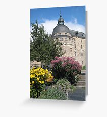 Örebro Castle 3. Greeting Card