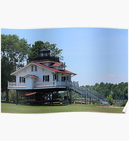 Roanoke River lighthouse Poster