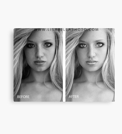 BEFORE/AFTER Canvas Print