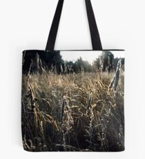 Across the morning mist Tote Bag