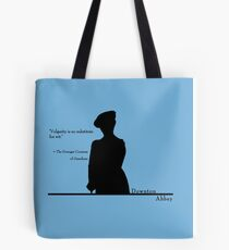 Vulgarity is no substitute for wit Tote Bag