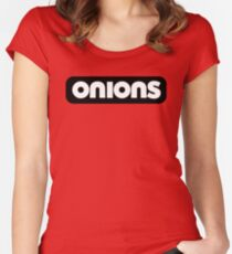 onions Women's Fitted Scoop T-Shirt