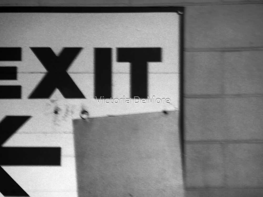 Night Motion V: Contrast Exit by Victoria DeMore