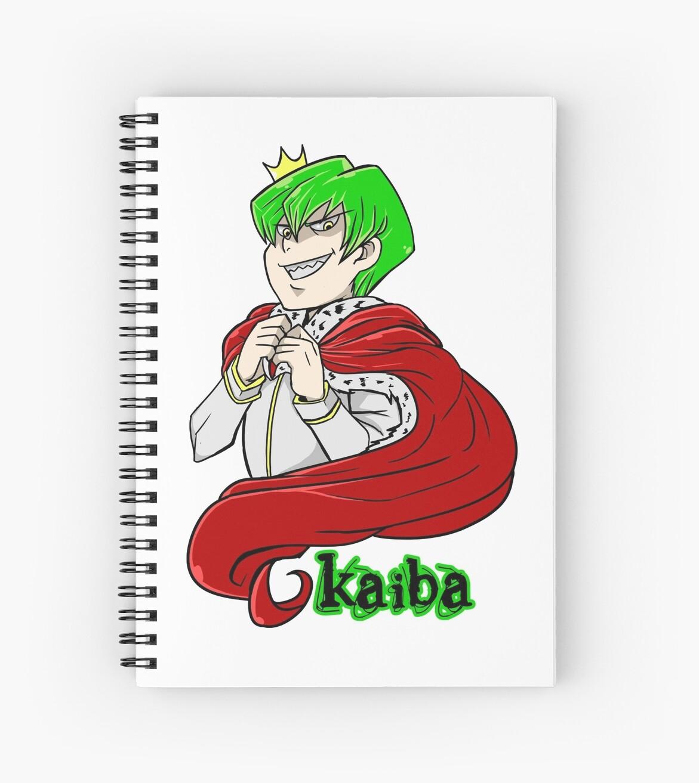 Kaiba Green Hair Yu Gi Oh Spiral Notebooks By Masaya90 Redbubble