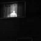 Night Motion XII: A Light in the Window by Victoria DeMore