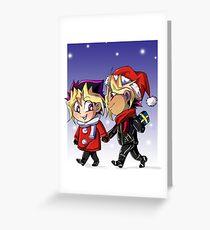 puzzleshipping Yu-Gi-Oh! Christmas Greeting Card