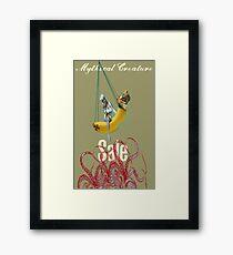 Mythical Creature Sale  Framed Print