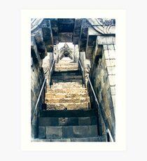 Borobudur - stairs to heaven Art Print