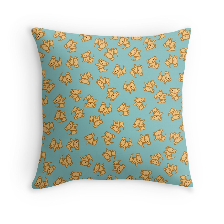 Yellow Lab Decorative Pillows :