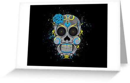 Diabolical Sugar Skull by seventhfury