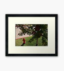 Little Red Fireman Framed Print