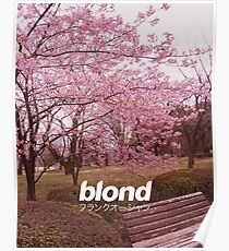Frank Ocean Blond | Japanese Cherry Blossom Version  Poster