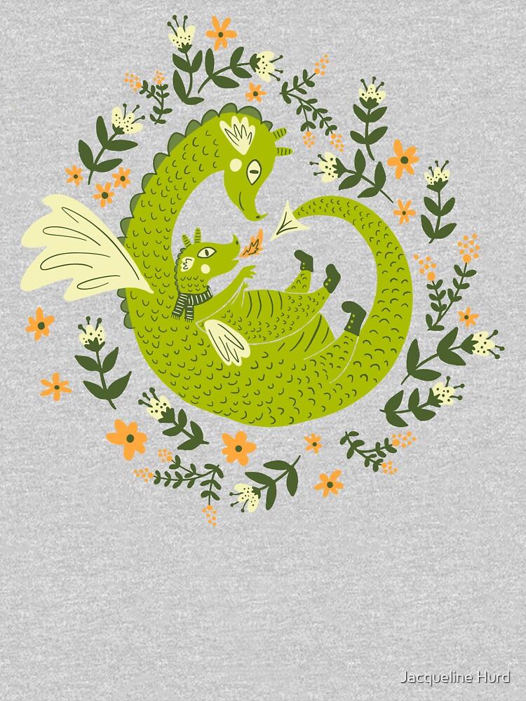 Mama and Baby Dragon by JMHurd