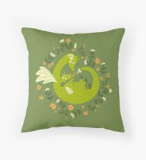 Mama and Baby Dragon Floor Pillow