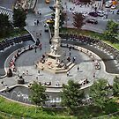 above columbus circle by DarylE