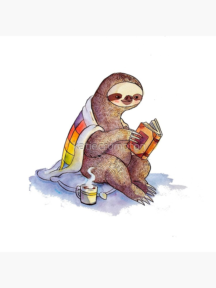 Cozy Sloth by katiecrumpton