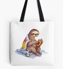 Cozy Sloth Tote Bag