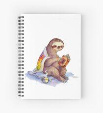 Cozy Sloth Spiral Notebook