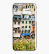 Vernazza Italy in the Cinque Terra iPhone Case/Skin