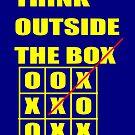 Think outside the box by Edgar Moya