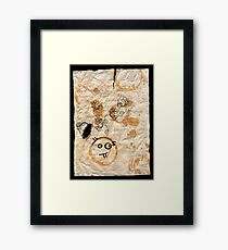 DNA: Off The Top Of My Head Framed Print