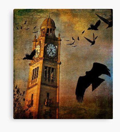 the clocktower Canvas Print